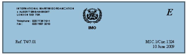 IMO certification 1324 IIB savings